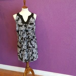 White House Black Market Tiered Dress